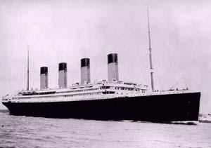 objetos reales titanic